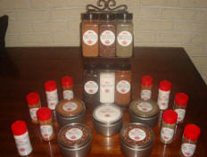Spices and Dry Rubs